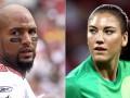 Американская футболистка дисквалифицирована из-за пьяного мужа