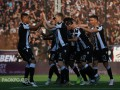 Фанаты ПАОКа устроили красочный перфоманс в честь чемпионства клуба