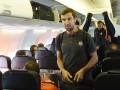 Шахтер прилетел в Испанию на ответный матч 1/2 финала Лиги Европы