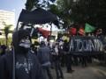 Полиция подавила протест против Олимпиады слезоточивым газом