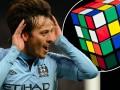 Игроки Манчестер Сити соревновались в собирании кубика Рубика