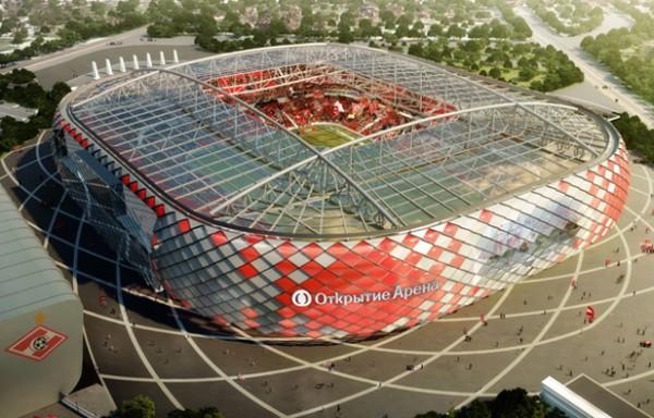 Новая арена Спартака получит название спонсора
