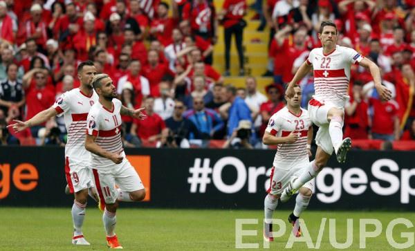 Швейцария забила один гол Албании, чего хватило для победы
