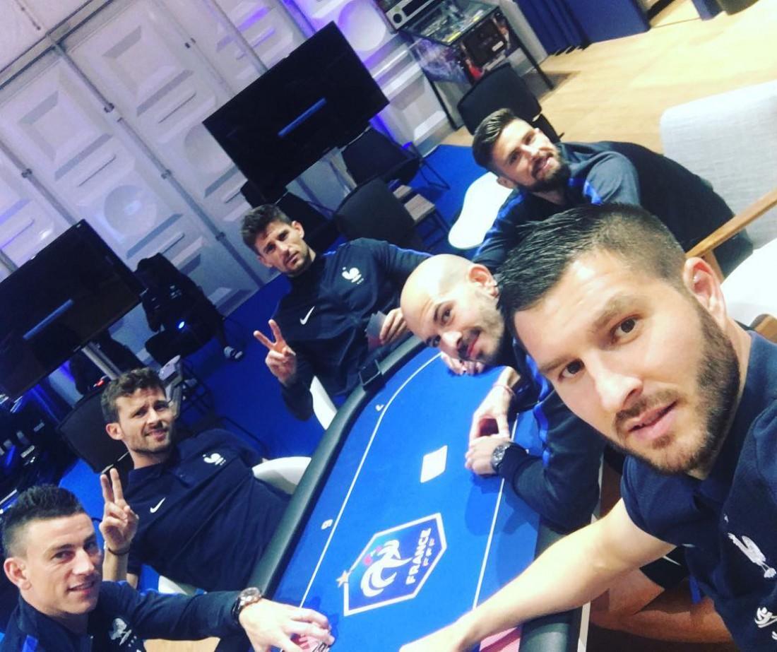 Покерный турнир французской сборной