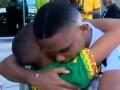 Трогательная встреча: Мальчик расплакался в объятиях Это'О (видео)
