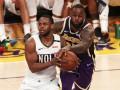НБА: Лейкерс обыграл Новый Орлеан, Миннесота в овертайме уступила Атланте