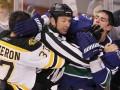 Горячие головы: Укус хоккеистом соперника НХЛ признала непреднамеренным
