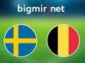 Швеция - Бельгия 0:1 Трансляция матча Евро-2016