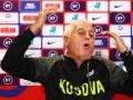 Тренер сборной Косово устроил зажигательную пресс-конференцию перед матчем с Англией