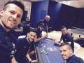 Футболисты сборной Франции сыграли в покер накануне матча с Германией