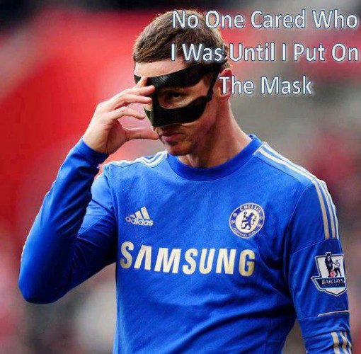 Никого не волнует, кем я был до того, как одел маску