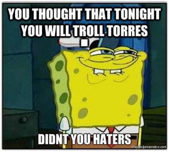 Ты тоже думал, что после матча с Рубином будешь троллить Торреса?