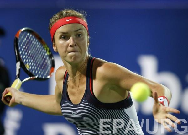 Свитолина покидает турнир в Дубае