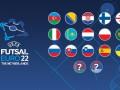 Сборная Украины по футзалу отобралась на Евро-2022