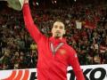 Златан возвращается: шведский нападающий уже тренируется с мячом