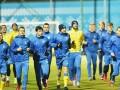 Непогода сорвала первую тренировку сборной Украины перед контрольными матчами