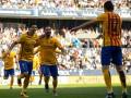 Барселона добыла непростую победу над Малагой