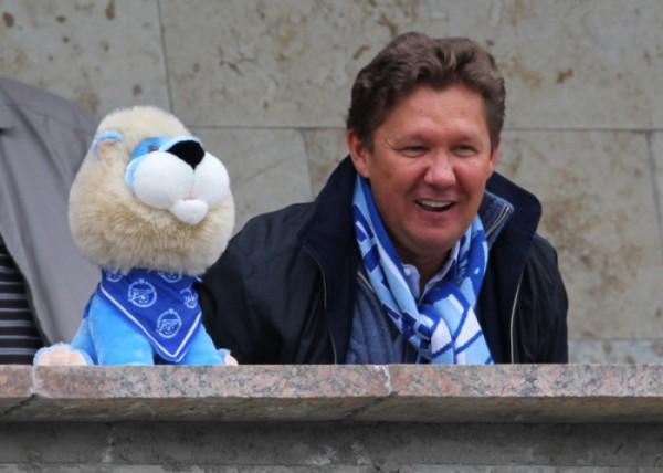 Глава Газпрома Алексей Миллер стал локомотивом объединенного чемпионата