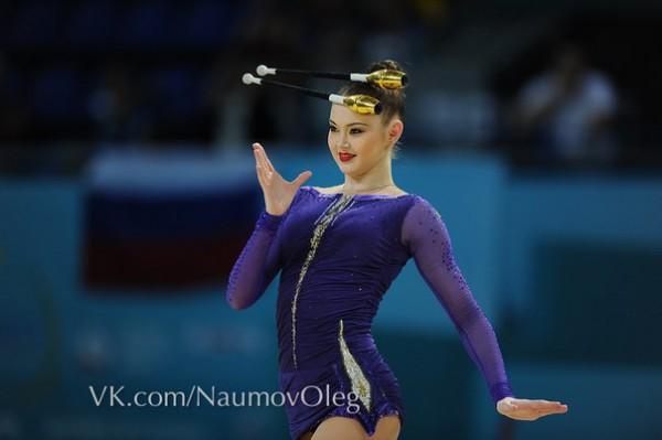 Алина Максименко выиграла бронзовую медаль
