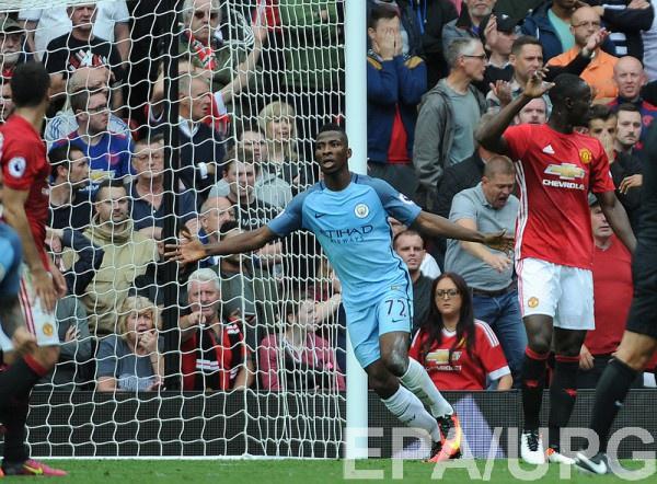 Манчестер Сити обыграл Манчестер Юнайтед в чемпионате Англии