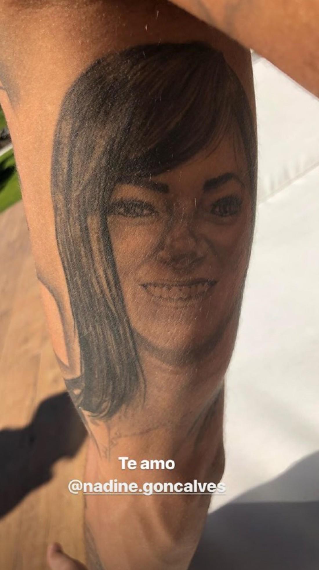 Новая татуировка Неймара