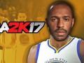Тьерри Анри стал персонажем баскетбольного симулятора NBA 2K17