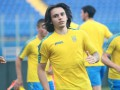 Шапаренко и Бурду забросали салфетками на их посвящении в сборную
