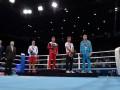 Украинский боксер на церемонии награждения не повернулся в сторону российского флага