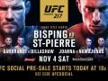 Сент-Пьер – Биспинг: видео онлайн трансляция боя UFC 217