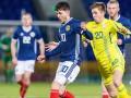 Молодежная сборная Украины на выезде одолела Шотландию