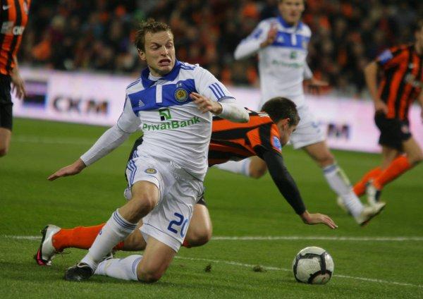 В матче на Донбасс Арене Динамо играло невыразительно