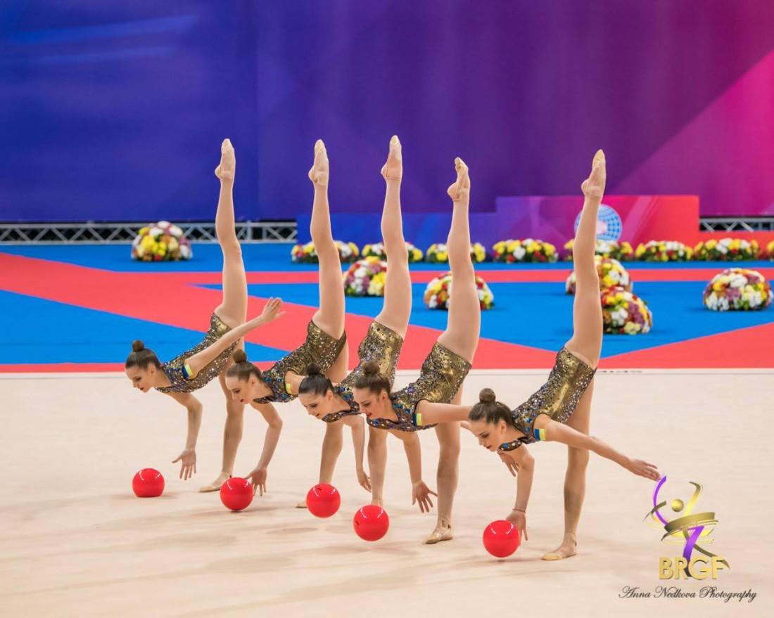 Сборная Украины в групповых упражнениях
