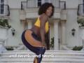 Видео зажигательного тверка от первой ракетки мира