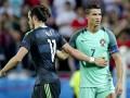 Роналду рассказал о чем шептал на ухо Бэйлу после матча Евро-2016