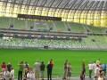 Поход за янтарем. День открытых дверей на новом стадионе в Гданьске