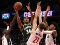 НБА: Милуоки в овертаме обыграл Вашингтон, Атланта уступила Филадельфии