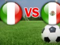 Италия – Мексика - 2:1, текстовая трансляция