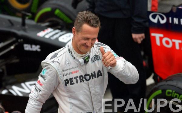 В Instagram Шумахера будут вспоминать о победах гонщика