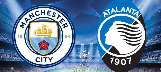 Манчестер Сити - Аталанта 0:0 онлайн трансляция матча ЛЧ