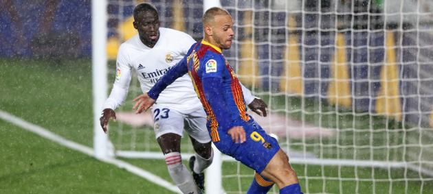 Реал Мадрид одержал домашнюю победу над Барселоной