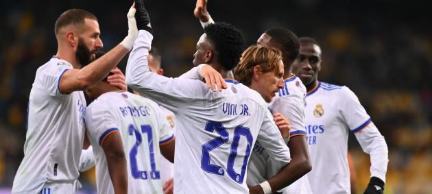 Шахтер крупно уступил Реалу в матче Лиги чемпионов