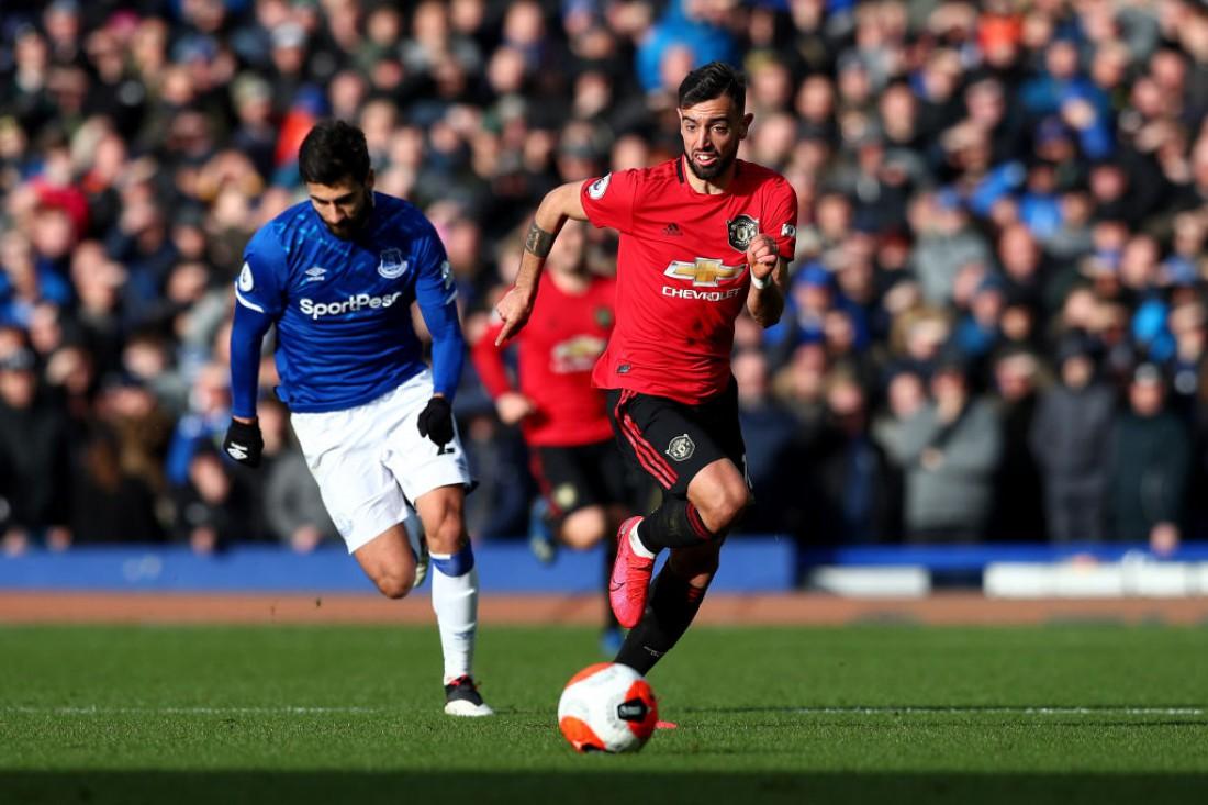 Эвертон - Манчестер Юнайтед: видео голов и обзор матча