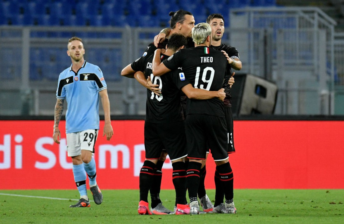 Лацио - Милан: видео голов и обзор матча