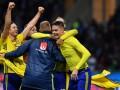 Шведы безумствовали на стадионе после выхода на ЧМ