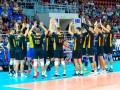 Сборная Украины по волейболу разгромила Чехию в Золотой Евролиге