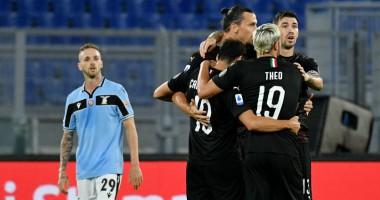 Лацио - Милан 0:3 видео голов и обзор матча чемпионата Италии