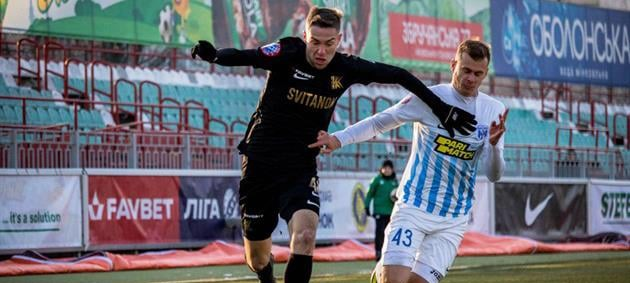 Десна уверенно обыграла Колос в матче чемпионата Украины