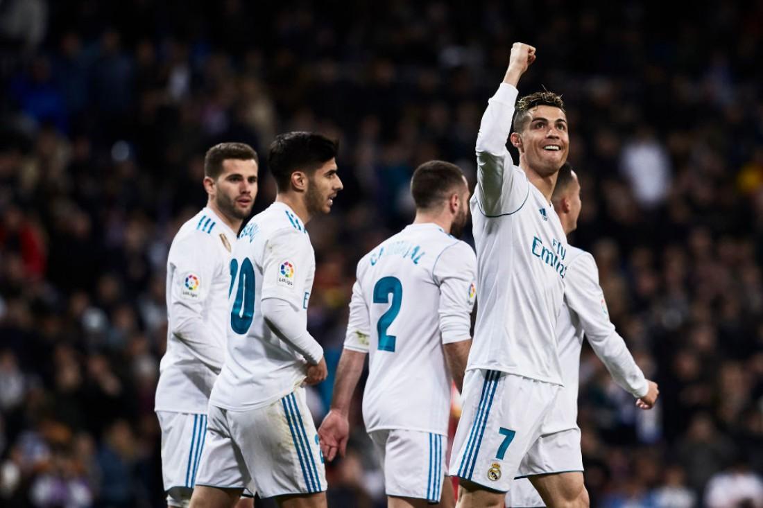 Реал выиграл у Жироны в чемпионате Испании