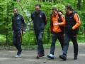 Шахтер прогулялся по львовскому парку перед матчем с Динамо