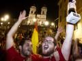 Все говорят. В момент четвертого гола Испании было отправлено более 15 тысяч твиттов за секунду